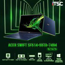 Notebook Acer Swift SF514-55TA-7494 (MIST GREEN)