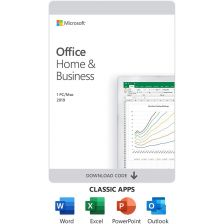[T5D-03302] Microsoft Office Home and Business 2019 English APAC EM Medialess P6 [FPP]