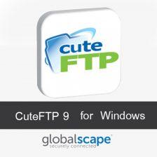 CuteFTP 9 โปรแกรมโอนย้ายไฟล์