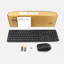 Kit - Dell Wireless Keyboard and Mouse (Thai) KM636 Black Retail - S and P 580-AEYB [VST]