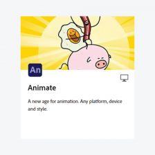 Adobe Animate โปรแกรมสร้างอนิเมชั่น ที่พัฒนามาจาก Flash Pro