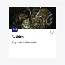 Adobe Audition โปรแกรมตัดต่อเสียง อัดเสียง ปรับแต่งริงโทน