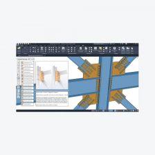 Autodesk Advance Steel โปรแกรมออกแบบโครงสร้างเหล็ก