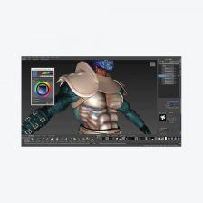 Autodesk Mudbox โปรแกรมระบายสีและแกะสลักดิจิทัล 3 มิติ