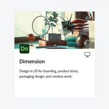 Adobe Dimension โปรแกรมออกแบบแพคเกจผลิตภัณฑ์ และสร้างภาพ 3D