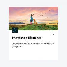 Adobe Photoshop Elements (Perpetual) โปรแกรมตกแต่งรูปภาพที่เน้นใช้งานง่าย