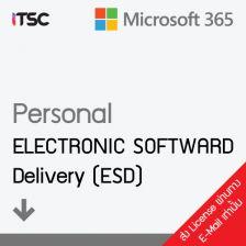 [QQ2-00003] Microsoft 365 (ไมโครซอฟท์ ออฟฟิต 365) Personal AllLng Sub PKLic APAC EM C2R NR (1 LICENSE, 1 YEAR, DOWNLOAD) [ESD]