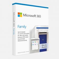 [6GQ-00083] Microsoft 365 Family  1YR