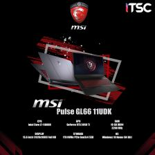 Gaming Notebook | MSI PULSE GL66 11UDK-216TH (Black)