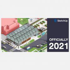 [Promotion] SketchUp Pro 2021 ซื้อ Licenses ที่ 2 รับส่วนลด 20% (แบบเช่าใช้รายปี/Subscription)